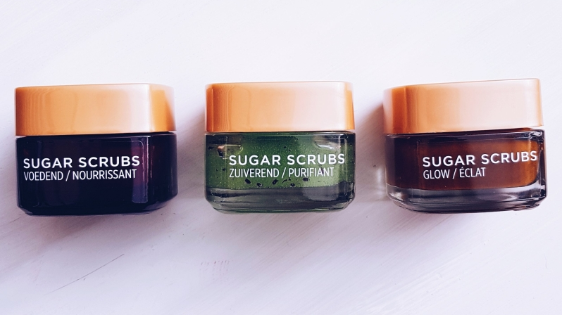 L'Oréal Paris - Suger Scrubs - Review - Ilse Zwart