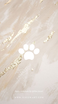 Story template by @ilse.zwart dogs cats marble pets animals
